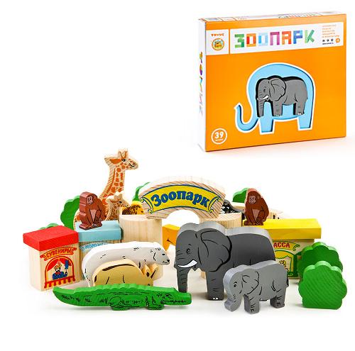 Конструктор: Зоопарк – Томик