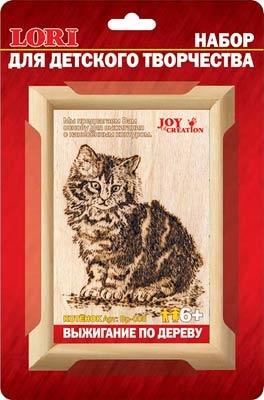Выжигание в рамке: Котенок - Лори