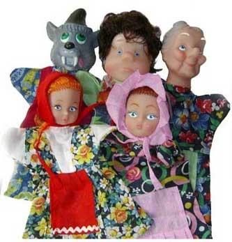 Кукольный театр: Красная шапочка - Русский Стиль