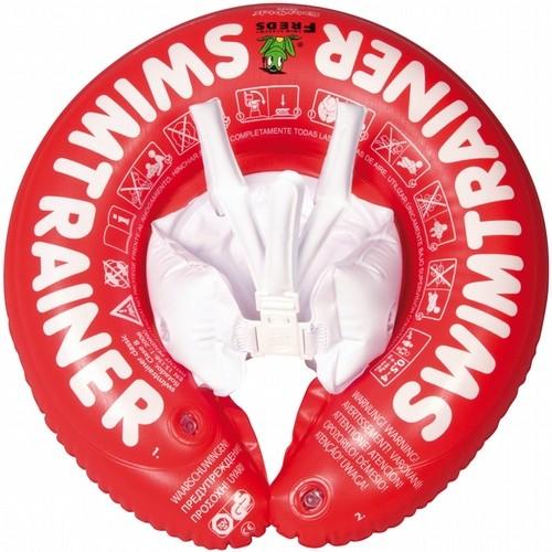 Надувной круг Свимтренер Классик (красный) для самых маленьких - Fred Swim academy