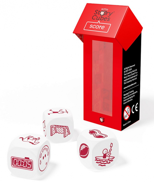 Кубики Историй: Дополнительный Набор Спорт (3 кубика)