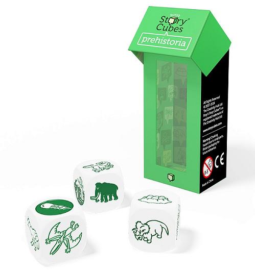 Кубики Историй: Дополнительный набор Динозавры (3 кубика)