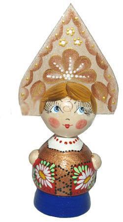 Кукла расписная, Марья
