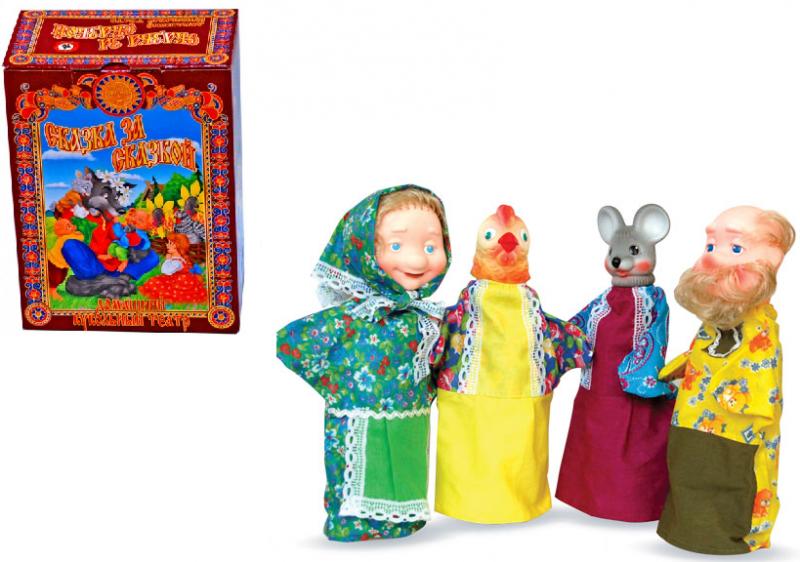 Курочка ряба кукольный театр