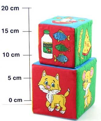 Кубики мягкие: Чье лакомство - Мякиши