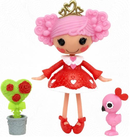Лалалупси Мини 533085: Кукла Принцесса Алое Сердечко, Queenie Red Heart - MGA