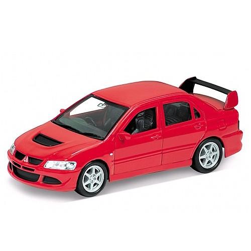 Модель машины Mitsubishi Lancer Evolution - Welly