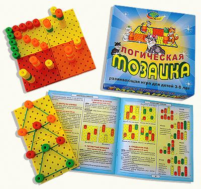 Развивающая игра: Логическая мозаика - Корвет