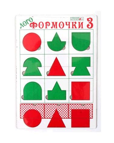 Логоформочки - 3 - Развивающие Игры Воскобовича