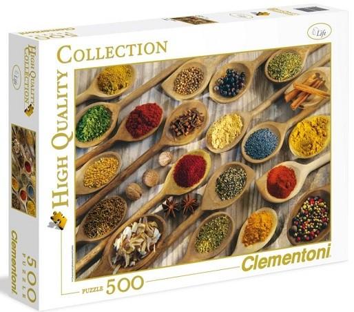 Пазл: Специи, 500 элементов - Clementoni