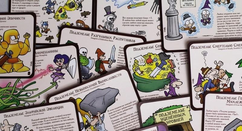 Дополнение к настольной игре Манчкин: Безбашенные подземелья. Манчкин 6 - Мир Хобби
