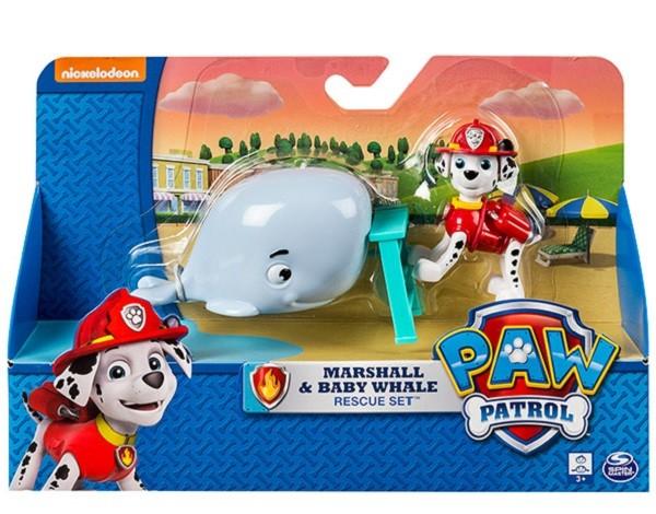 Paw Patrol фигурка спасателя с питомцем Маршал – Spin Master