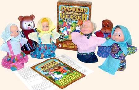 Кукольный театр: Маша и Медведь - Русский стиль
