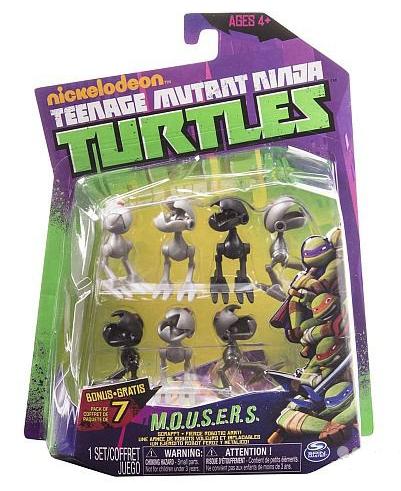 Черепашки Ниндзя: Маусеры фигурки 7 штук - Playmates Toys