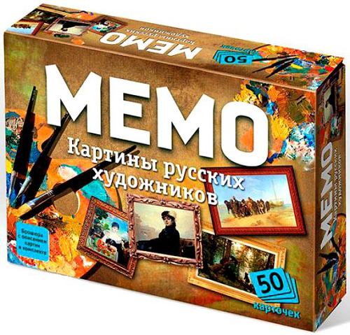 Игра Мемо Картины русских художников - ТД Бэмби