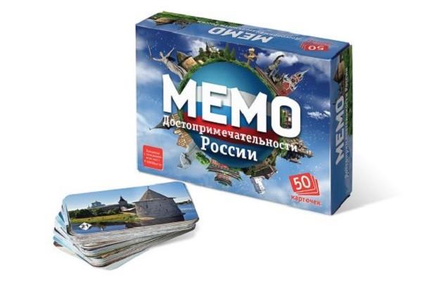 Игра Мемо Достопримечательности России - ТД Бэмби