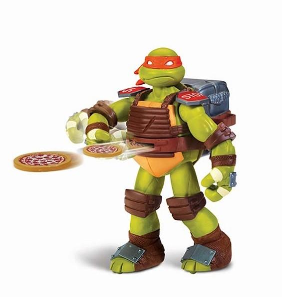 Черепашки Ниндзя: Микеланджело Метатель пиццы - Playmates Toys