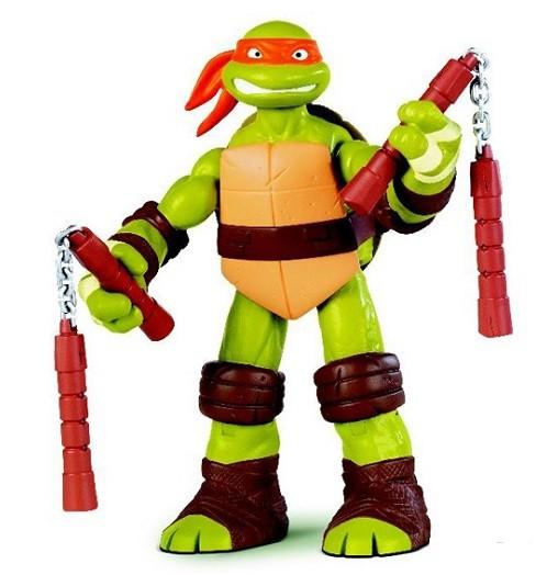 Черепашки Ниндзя: Боевой панцирь Микеланджело фигурка 28 см - Playmates Toys