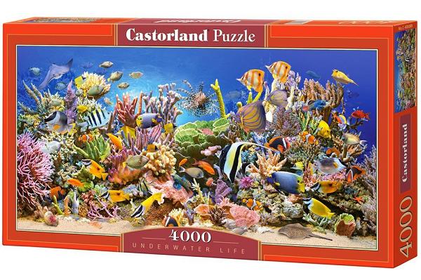 Пазл: Подводный мир, 4000 элементов - Castorland