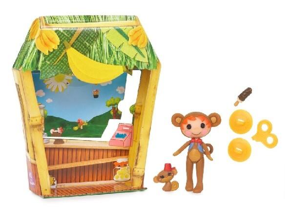 Лалалупси Мини 514206: Кукла Заводная обезьянка Ace Fender Bender - MGA