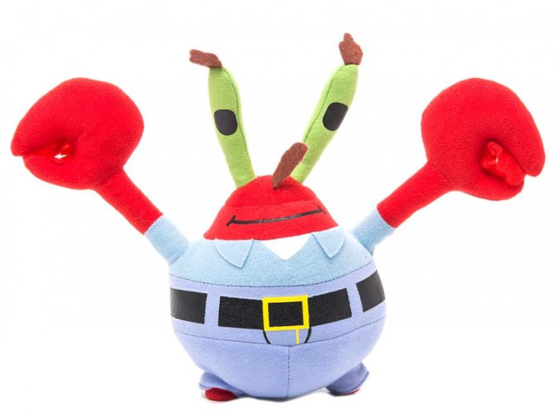 Спанч Боб: Мягкая игрушка Мистер Крабс 22 см, без звука - Гулливер