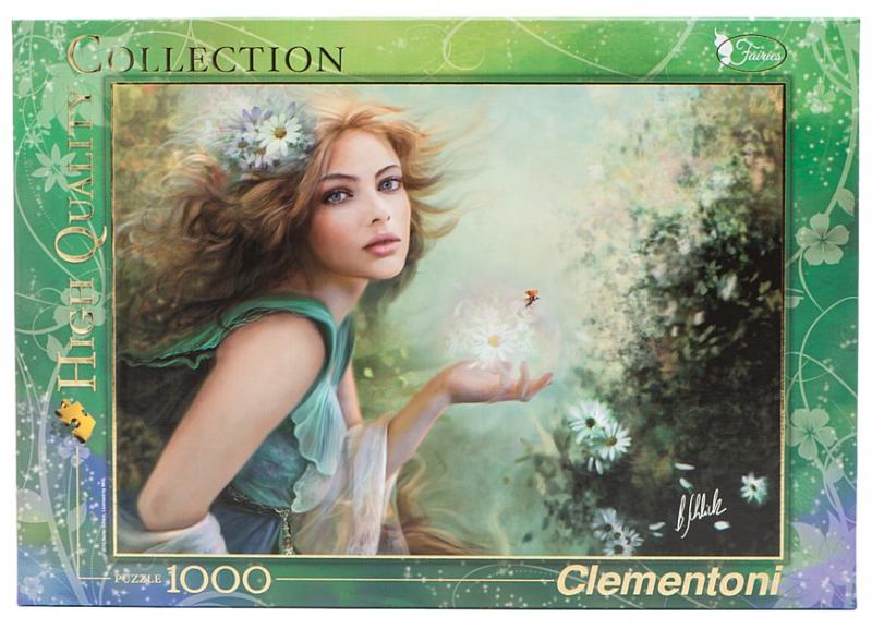 Пазл: Вестница весны, 1000 деталей - Clementoni