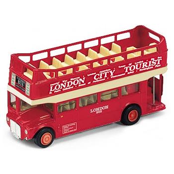 Модель машины London Bus, открытый - Welly