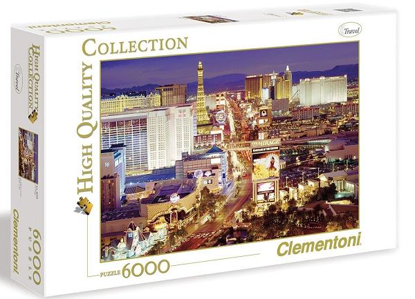 Пазл Вечеринка в Лас-Вегасе, 6000 элементов - Clementoni