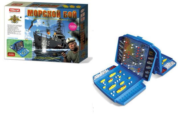 Настольная игра Морской бой №21 - Стеллар