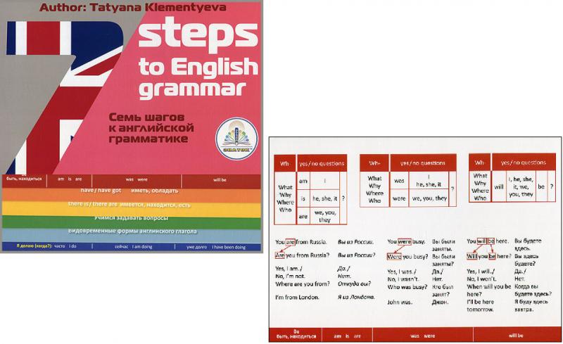 Книга для ручки Знаток: 7 шагов к английской грамматике