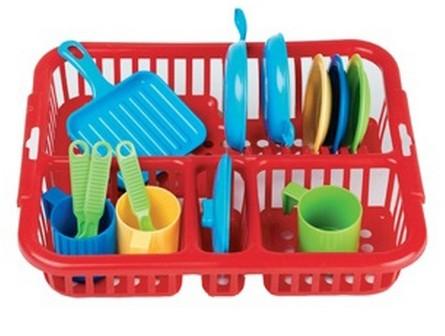Набор игрушечной посуды Большой, 10 предметов - Faro