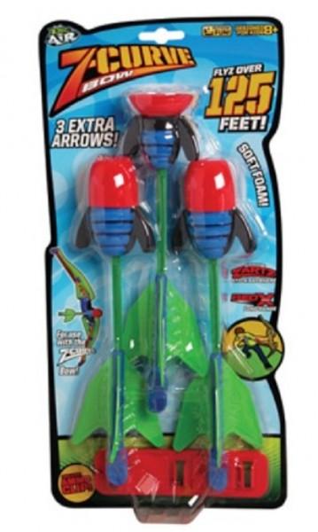 Набор стрел для лука: Z-Curve Reffils - Zing Toys