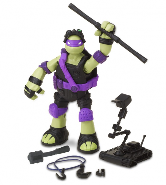 Черепашки Ниндзя Stealth Tech: Донателло фигурка 12 см - Playmates Toys