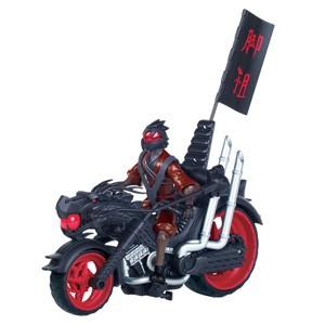 Черепашки Ниндзя: Огненный гонщик. Мотоцикл клана Фут с катапультой