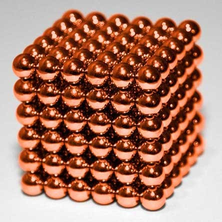 Неокуб Оригинал, Оранжевый 216 шариков, 5 мм