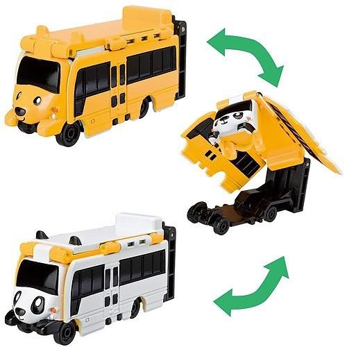 VooV: машинка-перевертыш Панда автобус - Медведь автобус - Bandai