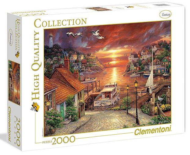 Пазл: Новые горизонты, 2000 элементов – Clementoni