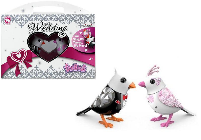 DigiBirds: Две поющие птички - жених и невеста - Silverlit