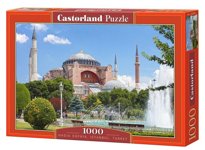 Пазл: Стамбул, Турция, 1000 элементов – Castorland
