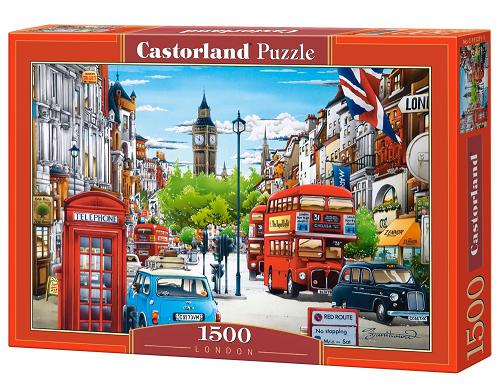 Пазл: Лондон, 1500 элементов – Castorland