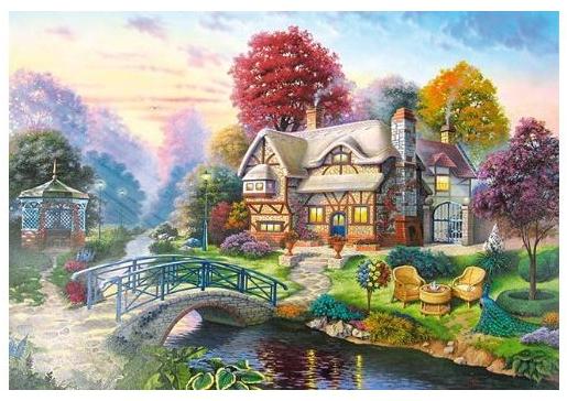 Пазл: Осенний пейзаж, 3000 элементов – Castorland
