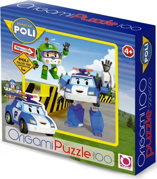 Пазл: Робокар. Поли и Хэли, 100 элементов – Origami Puzzle