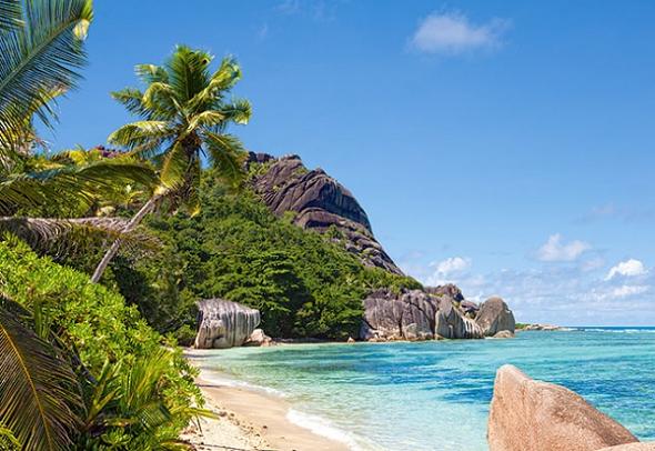Пазл: Сейшелы Пляж, 3000 элементов – Castorland