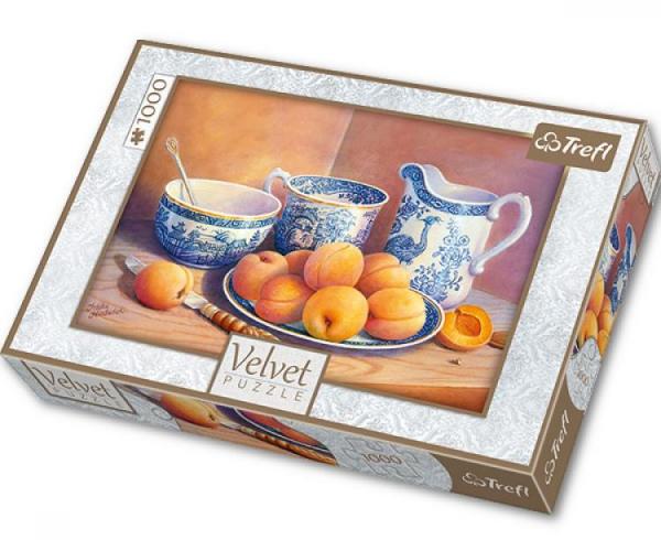 Пазл: Абрикосовый десерт, 1000 элементов - Trefl