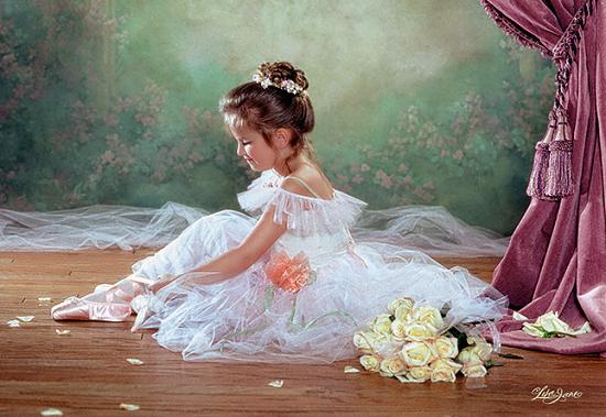 Пазл: Балерина, 500 элементов - Castorland