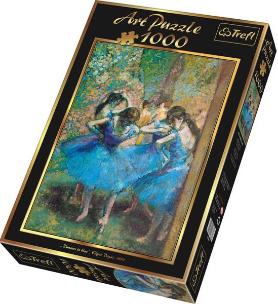 Пазл: Голубые танцовщицы, 1000 элементов - Trefl