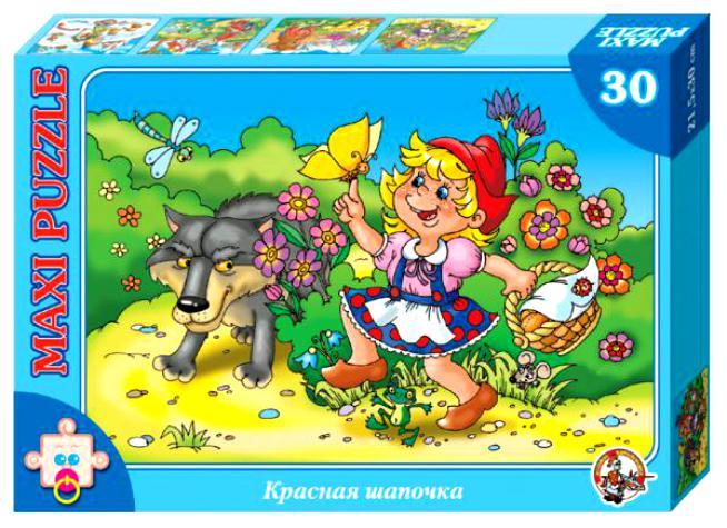Пазл макси: Красная Шапочка, 30 элементов – ДК