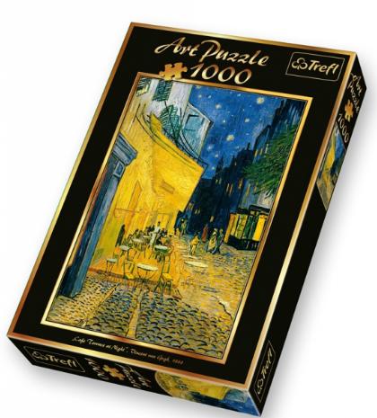 Пазл: Ночная терраса кафе, Винсент ван Гог, 1000 элементов – Trefl