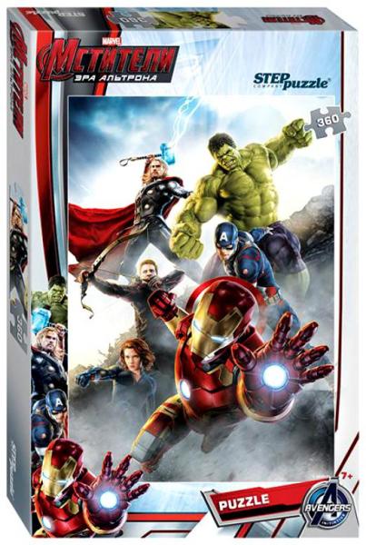 Пазл: Marvel Мстители-2, 360 элементов - Step Puzzle