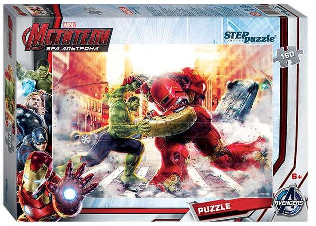 Пазл: Marvel Мстители-2, 160 элементов - Step Puzzle